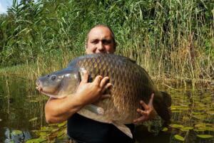 Dominik rekord łowiska Smolno 25.500kg